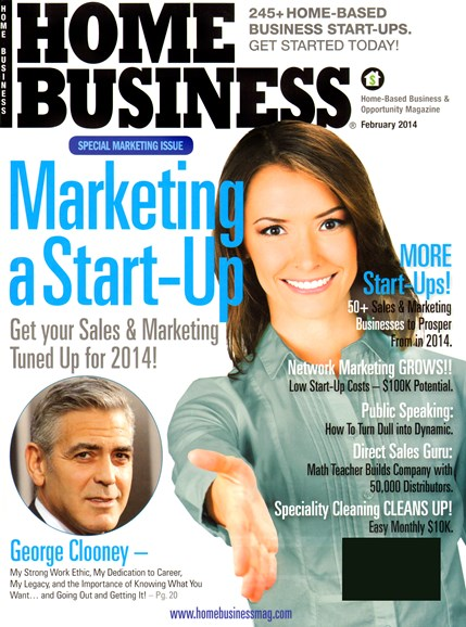 Home Business Magazine Cover - 2/1/2014