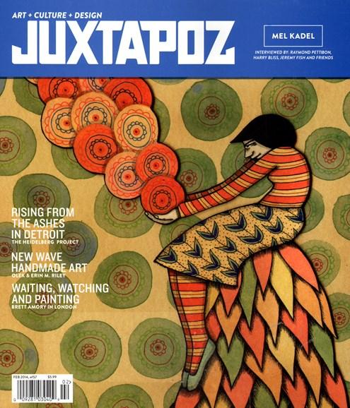 Juxtapoz Cover - 2/1/2014