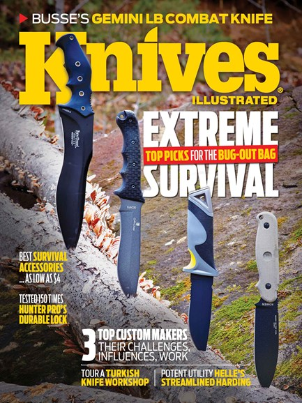 Knives Illustrated Cover - 2/1/2014