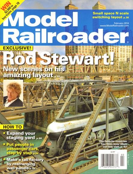 Model Railroader Cover - 2/1/2014