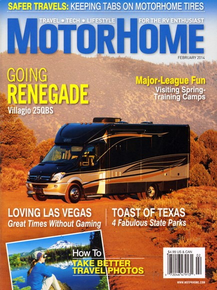MotorHome Cover - 2/1/2014