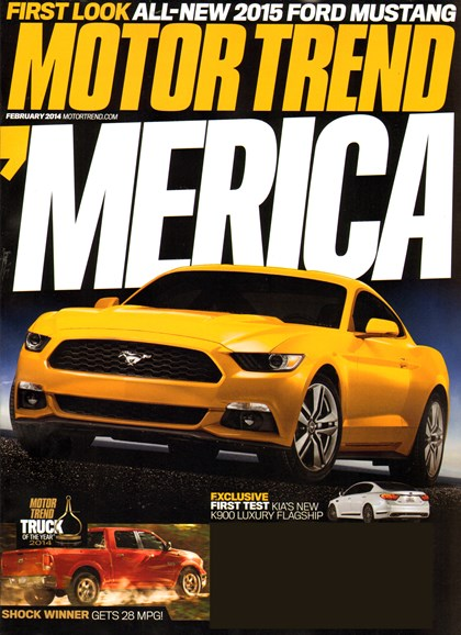 Motor Trend Cover - 2/1/2014