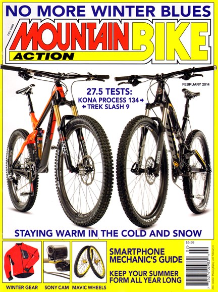 Mountain Bike Action Cover - 2/1/2014