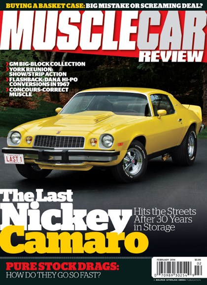 Muscle Car Review Cover - 2/1/2014
