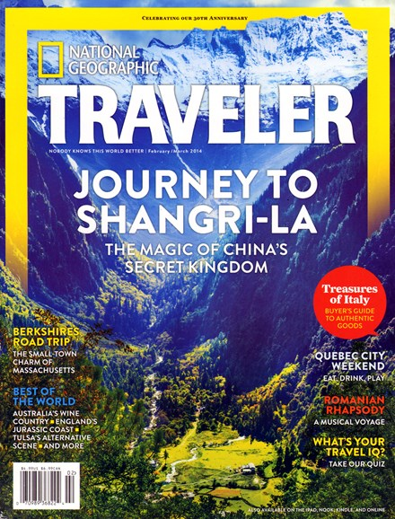 National Geographic Traveler Cover - 2/1/2014