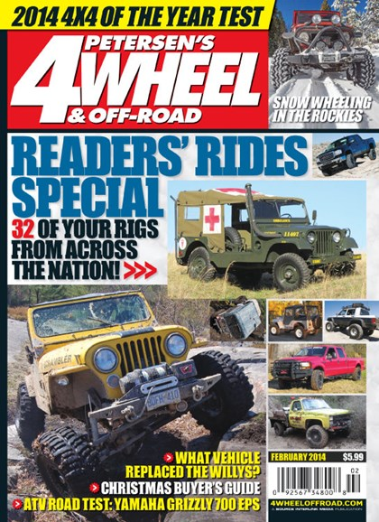 4 Wheel & Off-Road Cover - 2/1/2014
