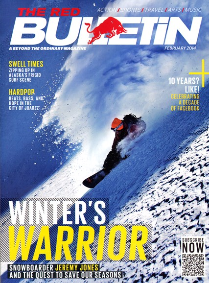 The Red Bulletin Cover - 2/1/2014