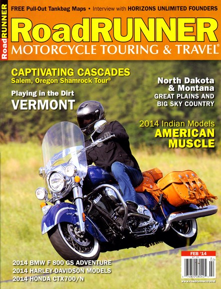 Road RUNNER Motorcycle & Touring Cover - 2/1/2014
