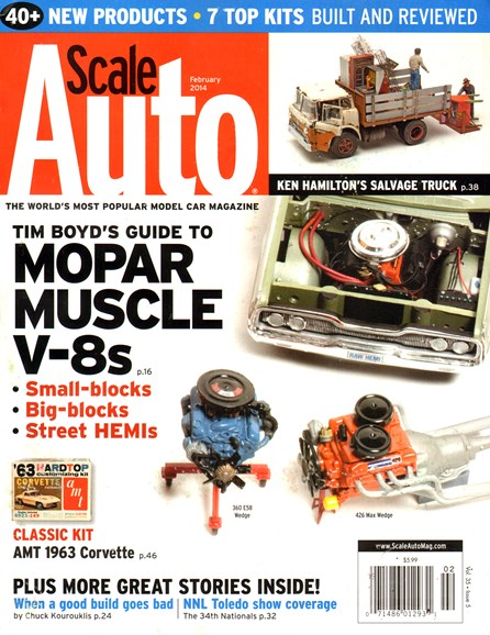 Scale Auto Magazine Cover - 2/1/2014