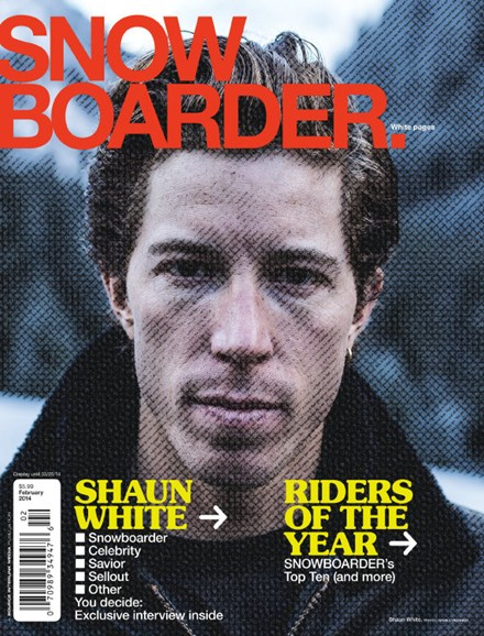 Snowboarder Cover - 2/1/2014