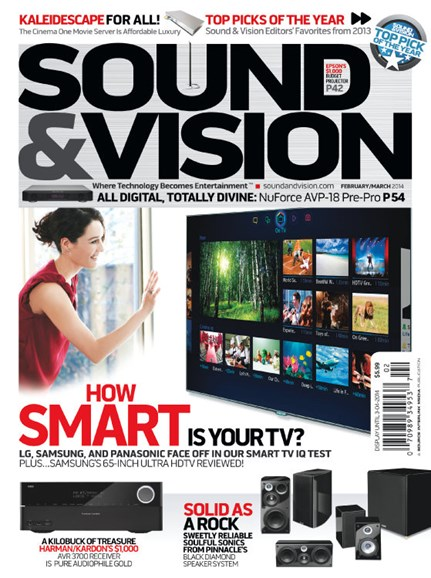 Sound & Vision Cover - 2/1/2014