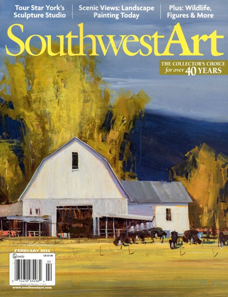 Southwest Art Cover - 2/1/2014