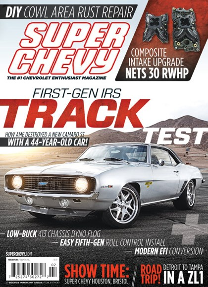 Super Chevy Cover - 2/1/2014
