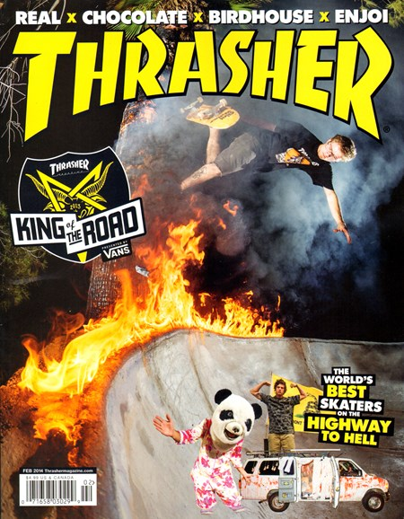 Thrasher Cover - 2/1/2014