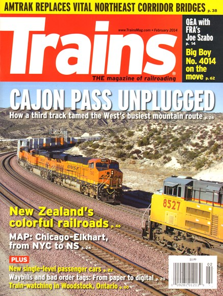 Trains Cover - 2/1/2014