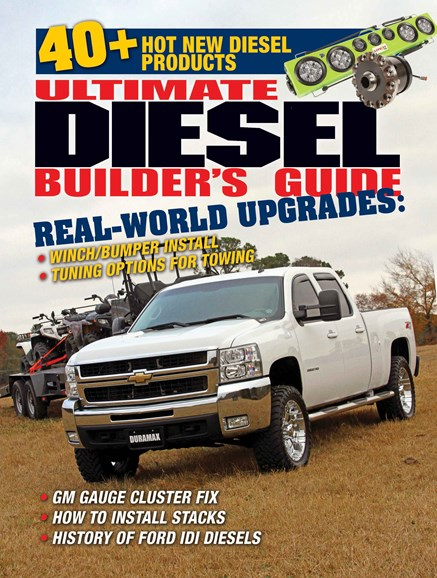 Ultimate Diesel Builder's Guide Cover - 2/1/2014