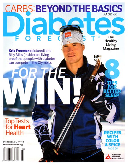 Diabetes Forecast Cover - 2/1/2014