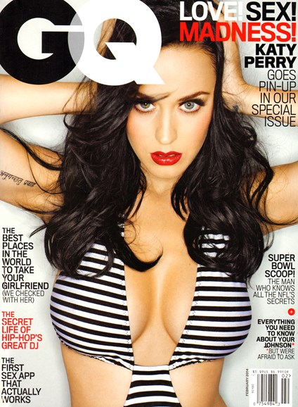 Gentlemen's Quarterly - GQ Cover - 2/1/2014