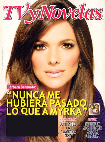 Tv Y Novelas Cover - 2/1/2014