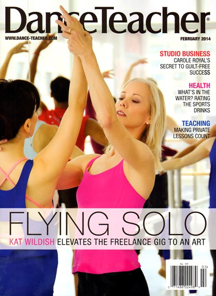 Dance Teacher Cover - 2/1/2014