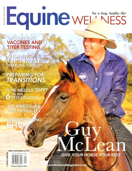 Equine Wellness Cover - 2/1/2014