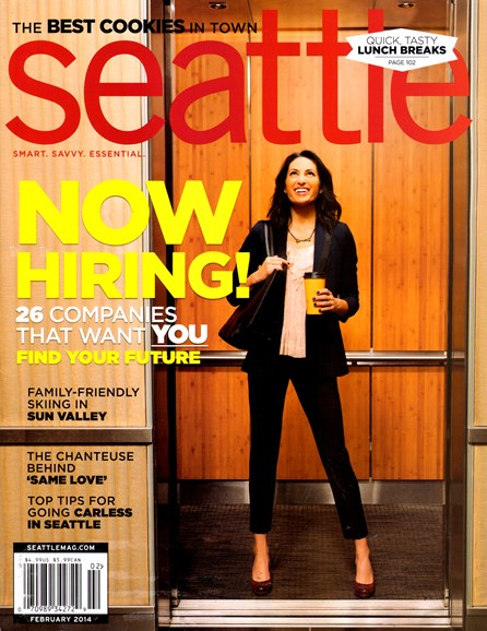 Seattle Magazine Cover - 2/1/2014