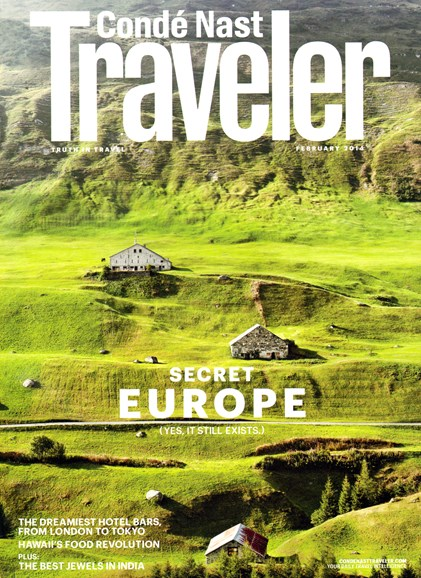 Condé Nast Traveler Cover - 2/1/2014