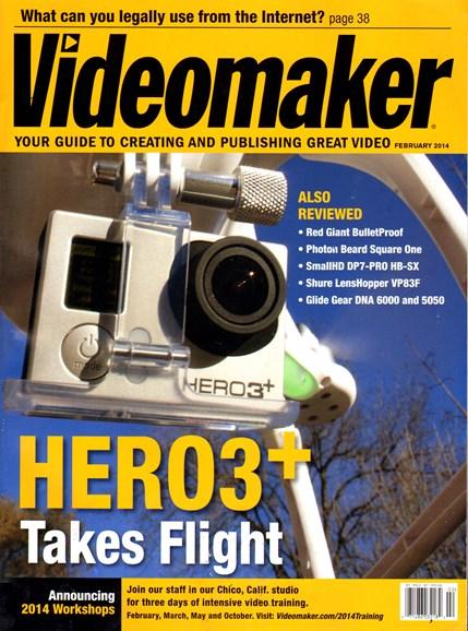 Videomaker Cover - 2/1/2014