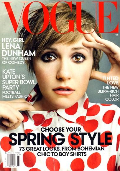 Vogue Cover - 2/1/2014