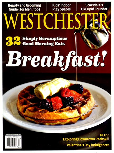 Westchester Magazine Cover - 2/1/2014
