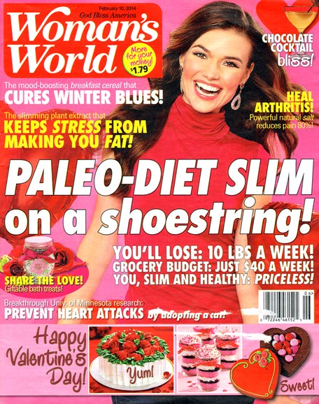 Woman's World Cover - 2/10/2014