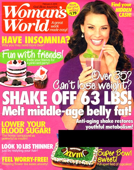 Woman's World Cover - 2/3/2014