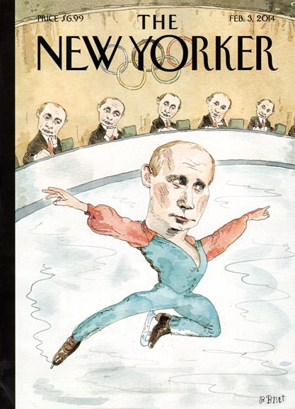 The New Yorker Cover - 2/3/2014