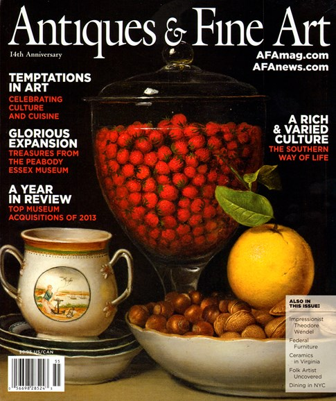 Antiques & Fine Art Cover - 1/1/2014