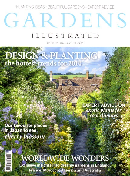 Gardens Illustrated Cover - 1/1/2014