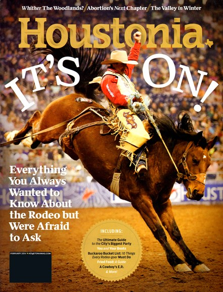 Houstonia Cover - 2/1/2014