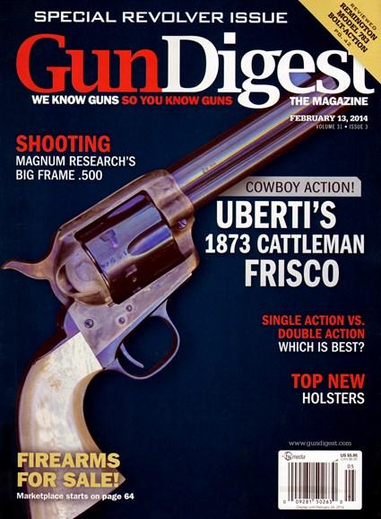 Gun Digest Cover - 2/13/2014