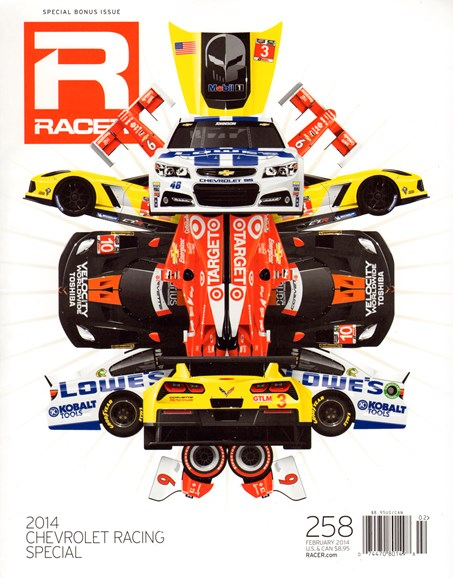 Racer Cover - 2/1/2014