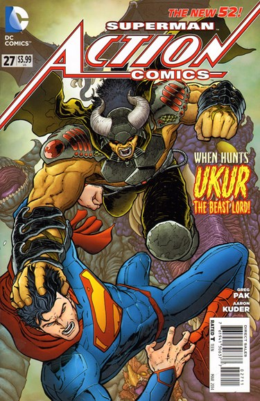 Action Comics Cover - 3/1/2014