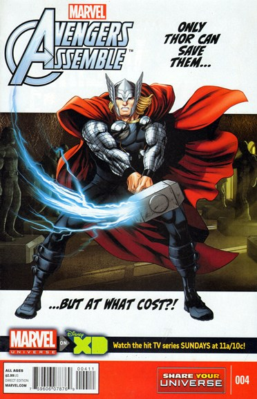 Marvel Universe Avengers Assemble Cover - 3/1/2014
