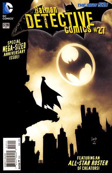 Detective Comics Cover - 3/1/2014