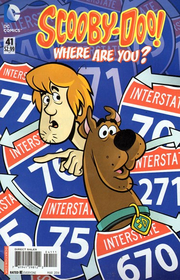 Scooby Doo, Where Are You? Cover - 3/1/2014