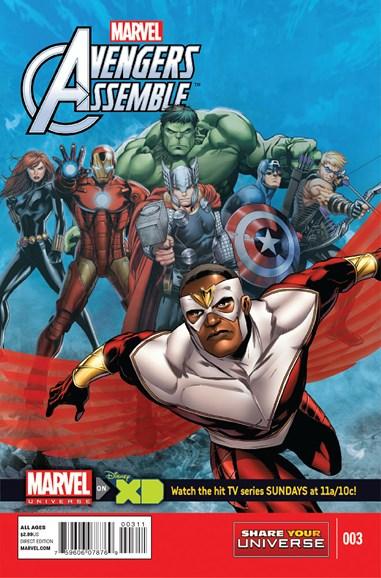 Marvel Universe Avengers Assemble Cover - 2/1/2014