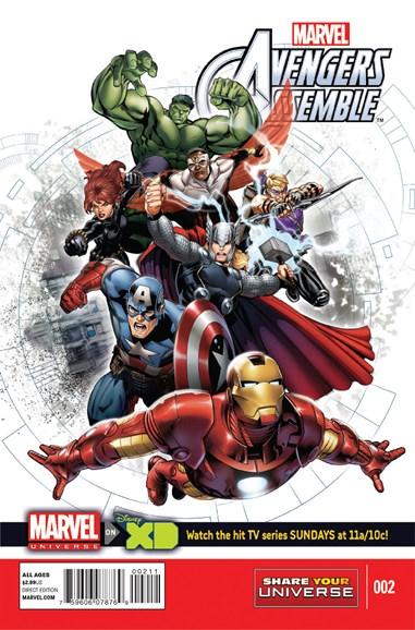 Marvel Universe Avengers Assemble Cover - 1/1/2014