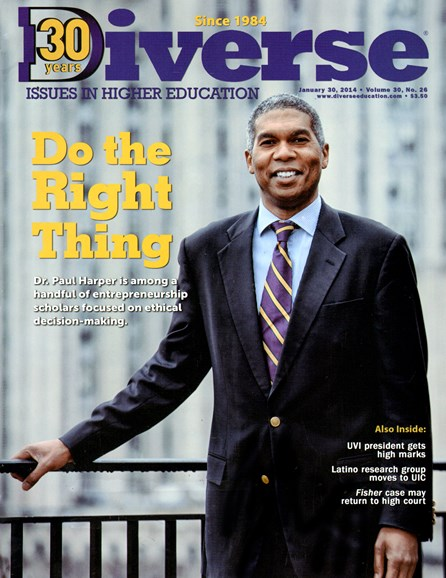 Diverse: Issues In Higher Education Cover - 1/30/2014