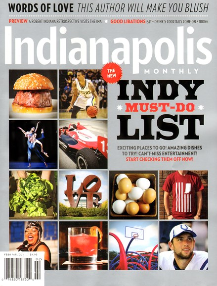 Indianapolis Monthly Cover - 2/1/2014
