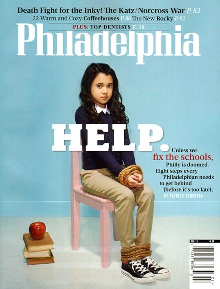 Philadelphia Magazine Cover - 2/1/2014