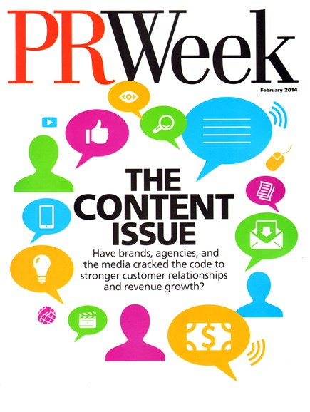 PRWeek Cover - 2/1/2014