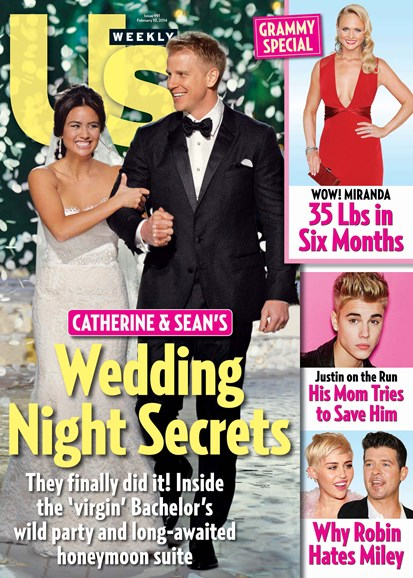 Us Weekly Cover - 2/10/2014