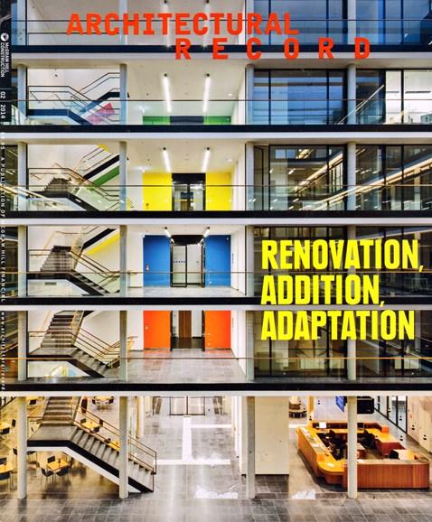 Architectural Record Cover - 2/1/2014
